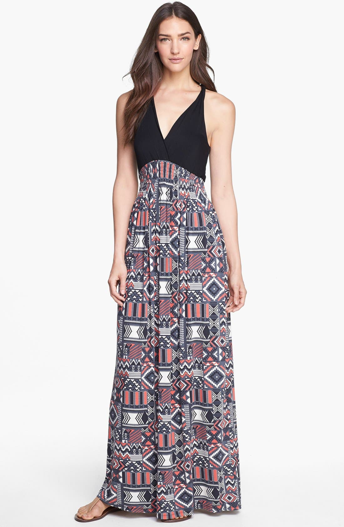 Main Image - Felicity & Coco Printed Maxi Dress (Regular & Petite) (Nordstrom Exclusive)