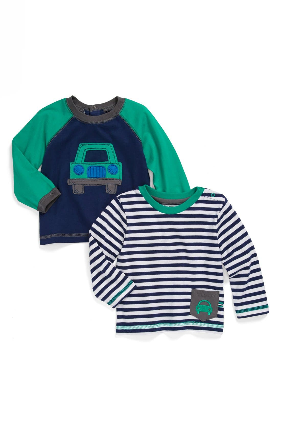 Main Image - Little Me 'Car' T-Shirt (2-Pack) (Baby)