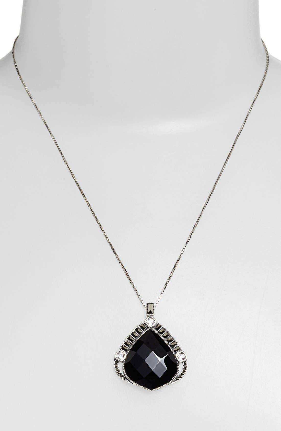 Alternate Image 1 Selected - Judith Jack 'Flamenco' Pendant Necklace