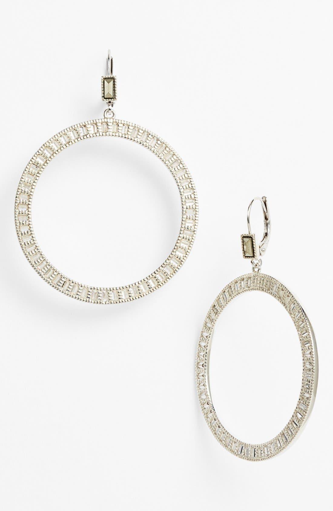 Alternate Image 1 Selected - Judith Jack 'Flamenco' Circle Drop Earrings