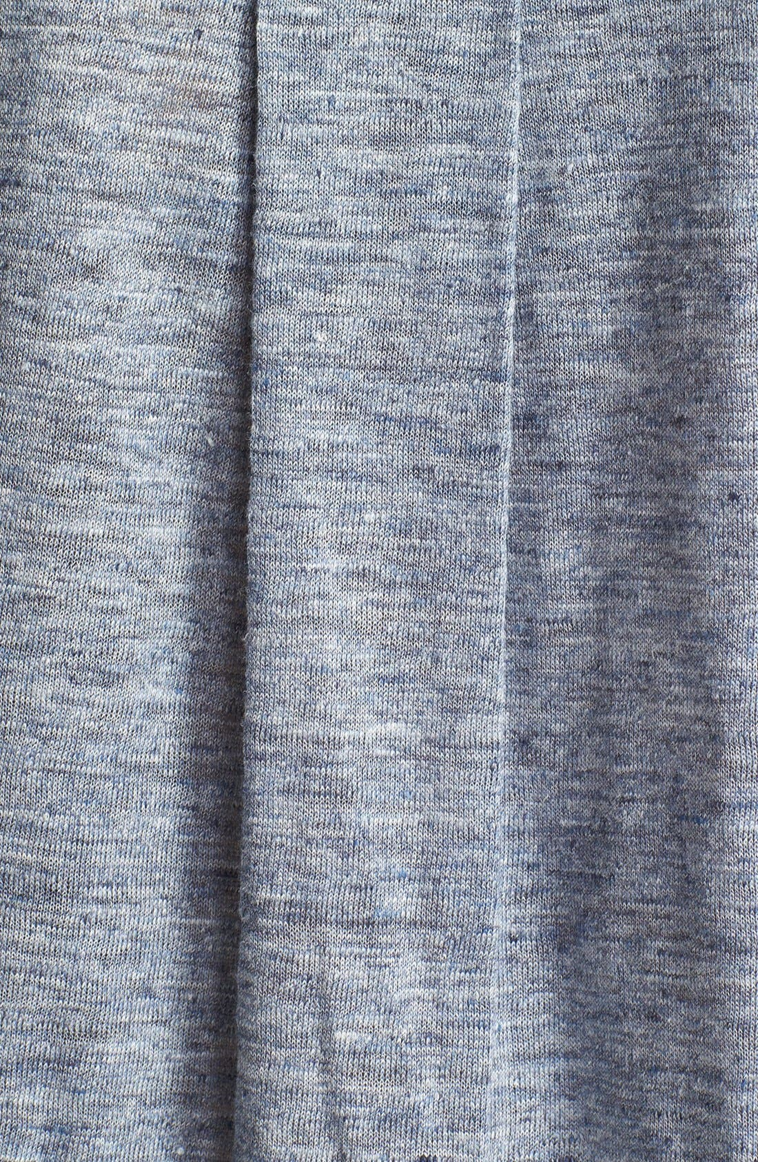 Alternate Image 3  - Vince Long Sleeve Linen Tee