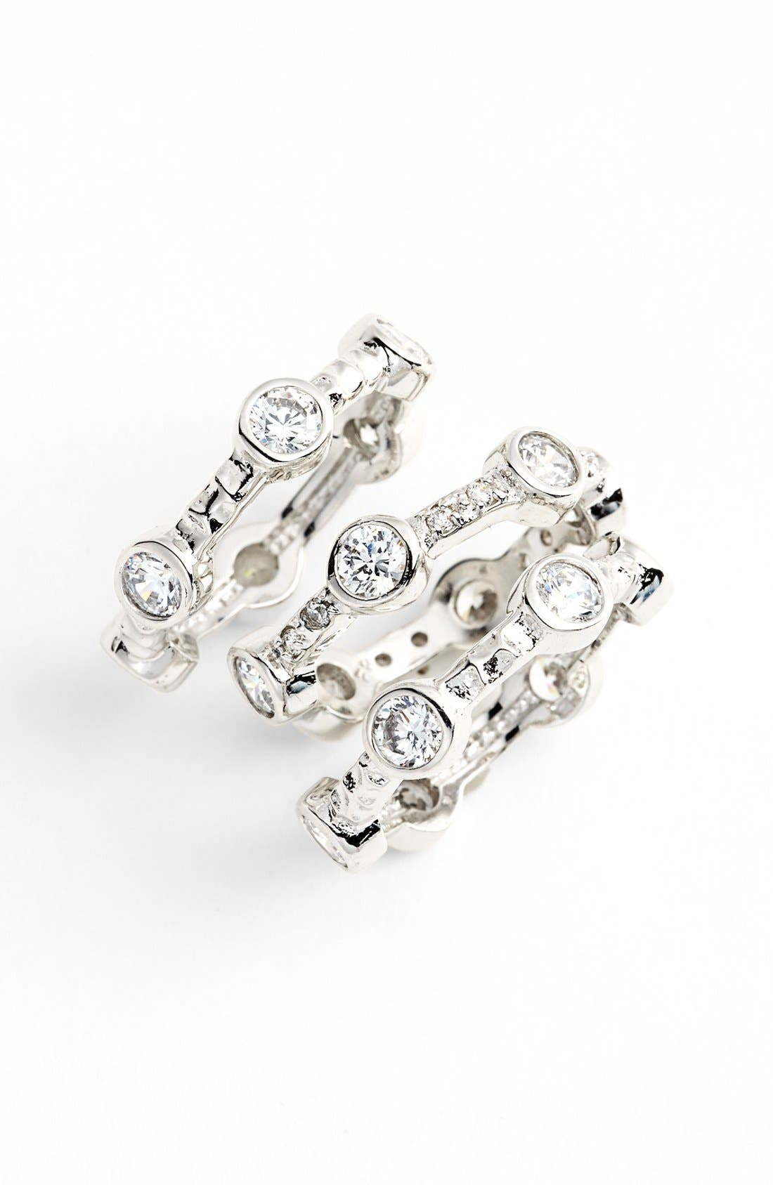Main Image - FREIDA ROTHMAN Stackable Rings (Set of 3)