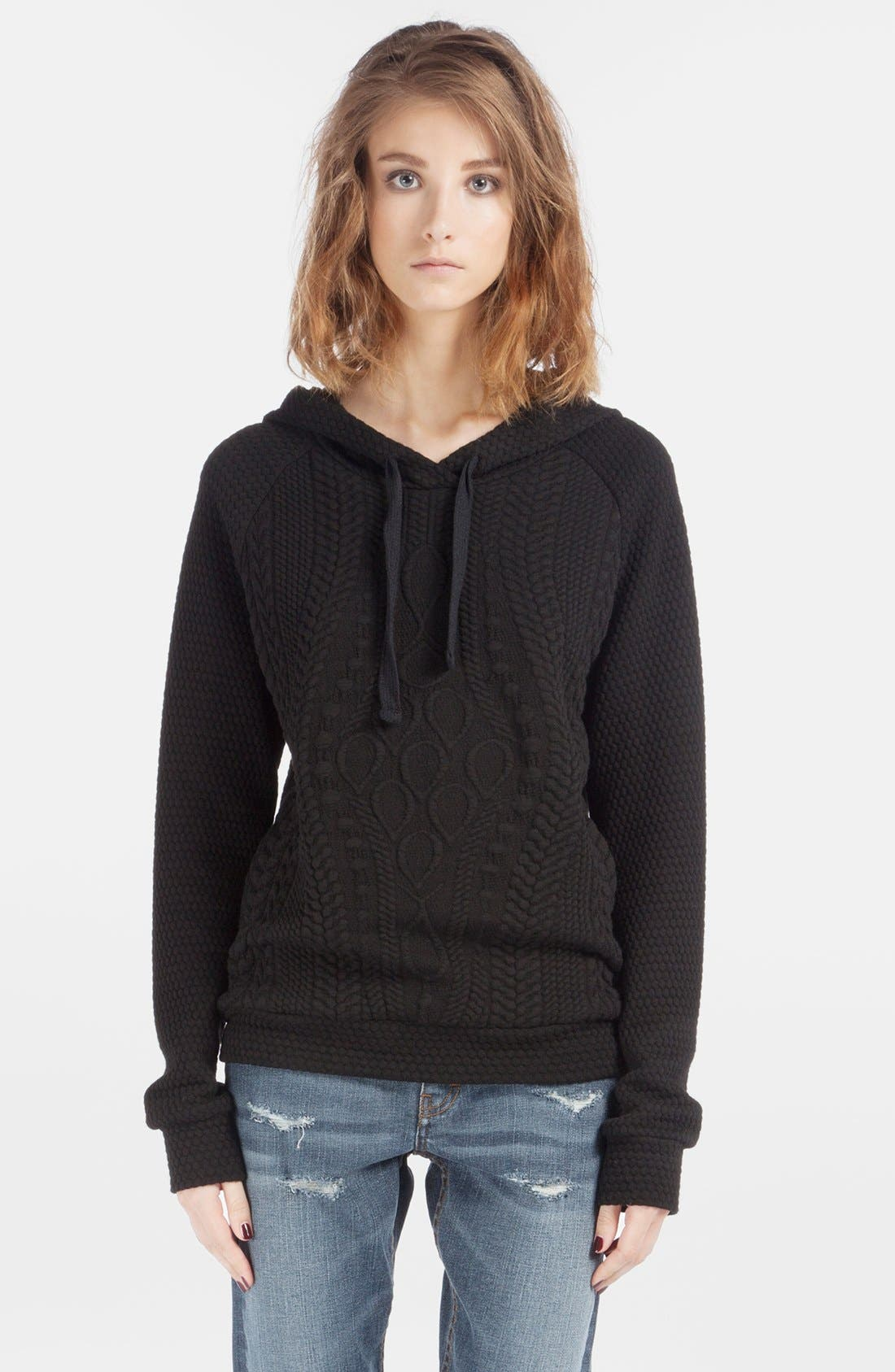 Alternate Image 1 Selected - maje 'Dodu' Knit Sweatshirt