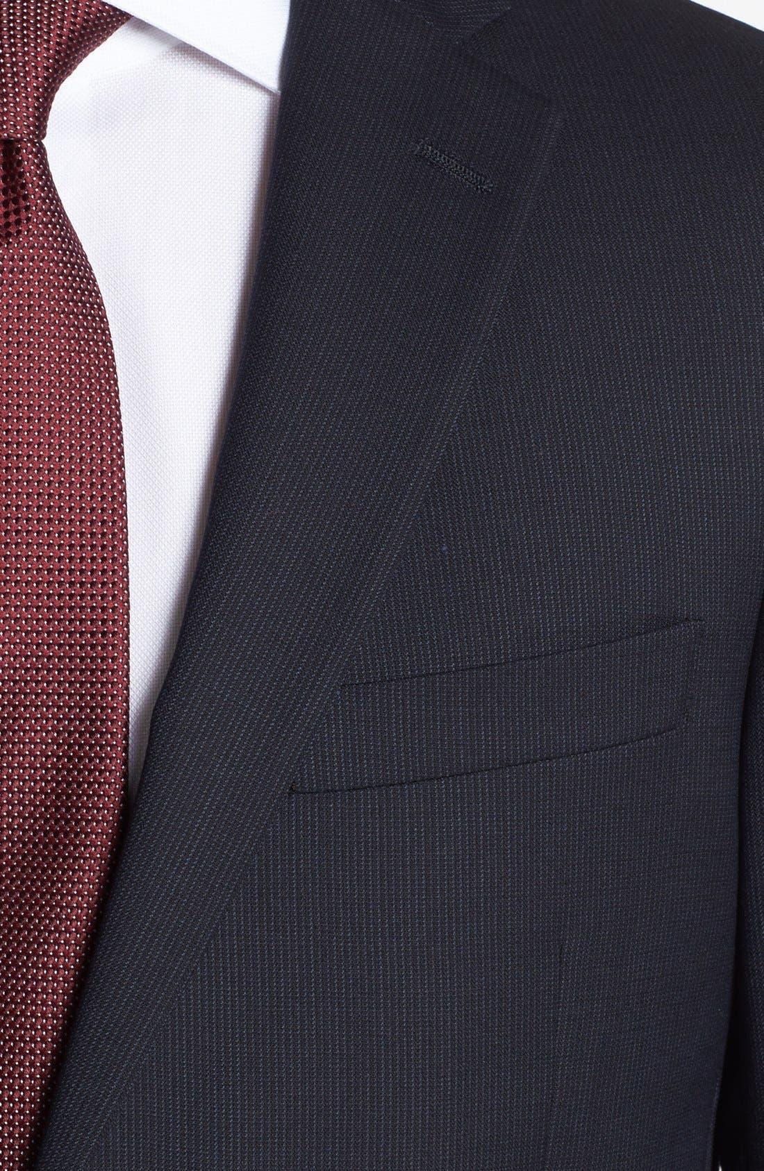 Alternate Image 2  - Hart Schaffner Marx 'New York' Classic Fit Stripe Suit