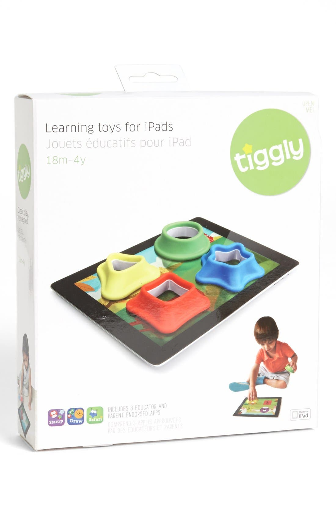 Alternate Image 1 Selected - Tiggly 'Shapes' iPad Learning Toy (Baby)