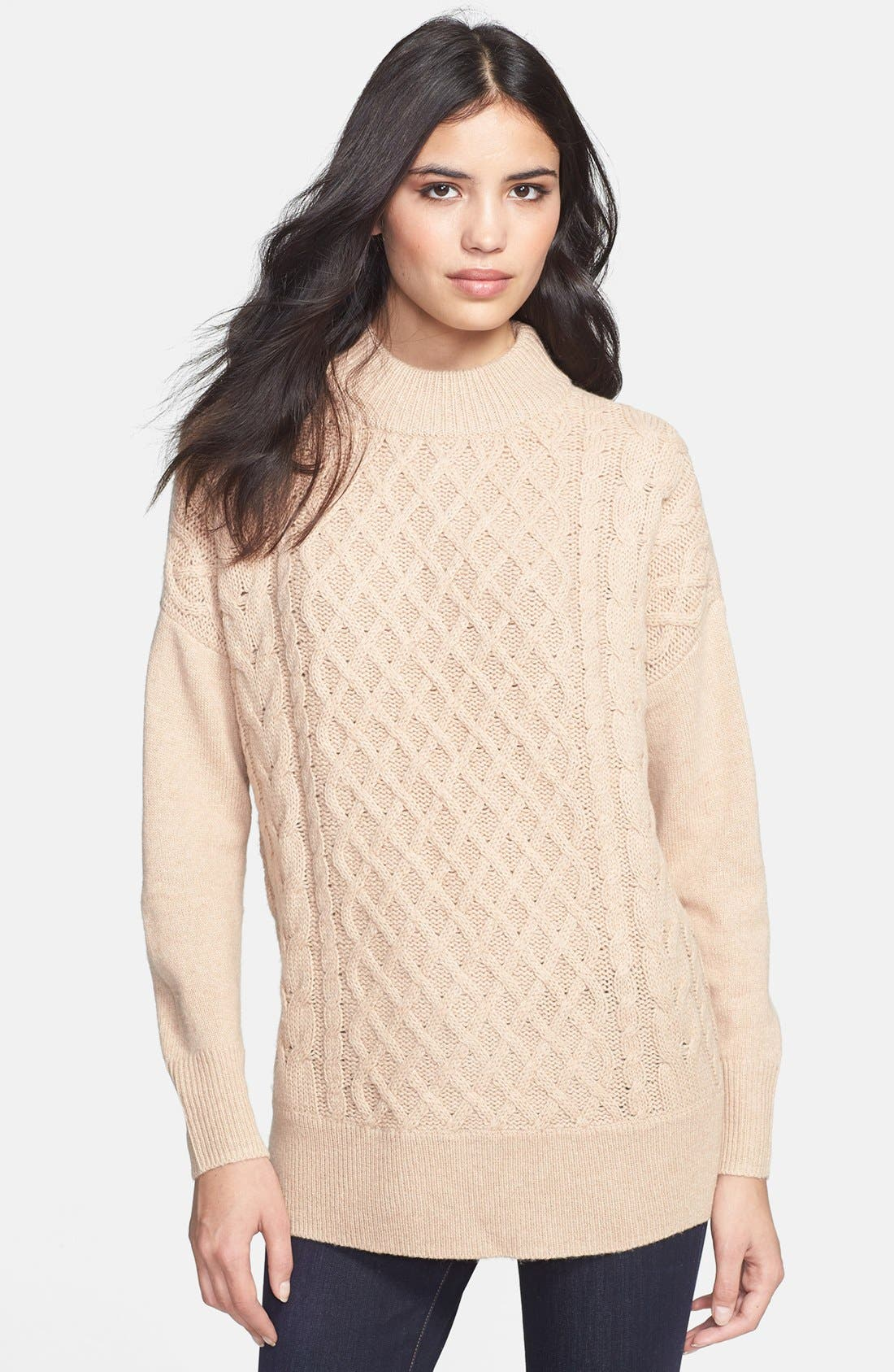 Alternate Image 1 Selected - Joie 'Bryanne' Cable Knit Sweater