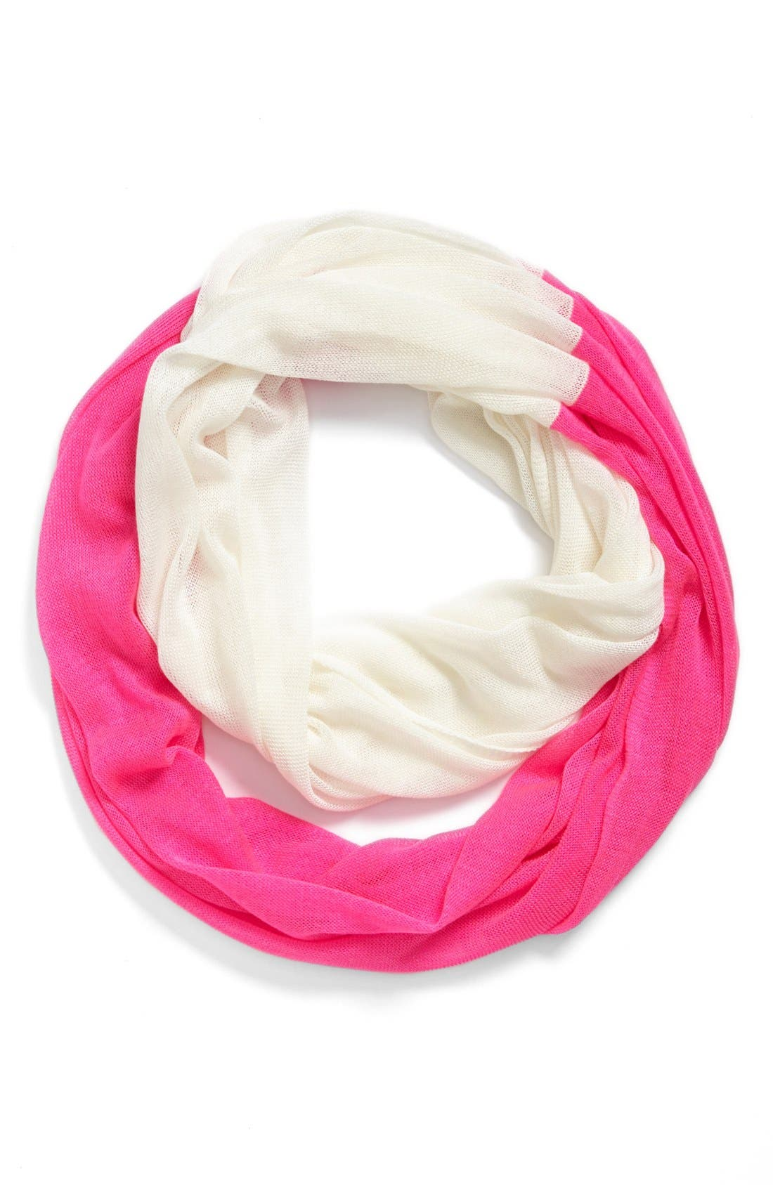 Alternate Image 1 Selected - The Accessory Collective Two Tone Infinity Scarf (Girls)