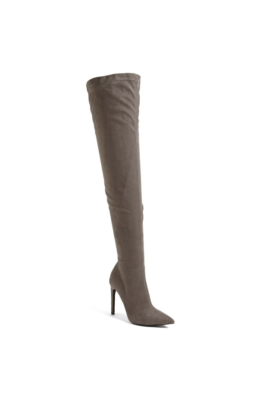 Alternate Image 1 Selected - Jeffrey Campbell 'Essie' Over the Knee Stretch Boot