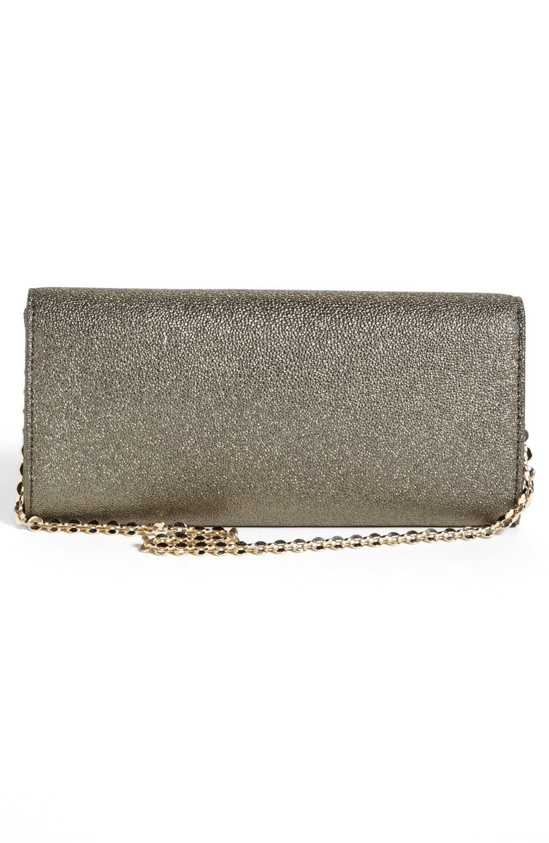 Alternate Image 3  - Ivanka Trump Metallic Clutch