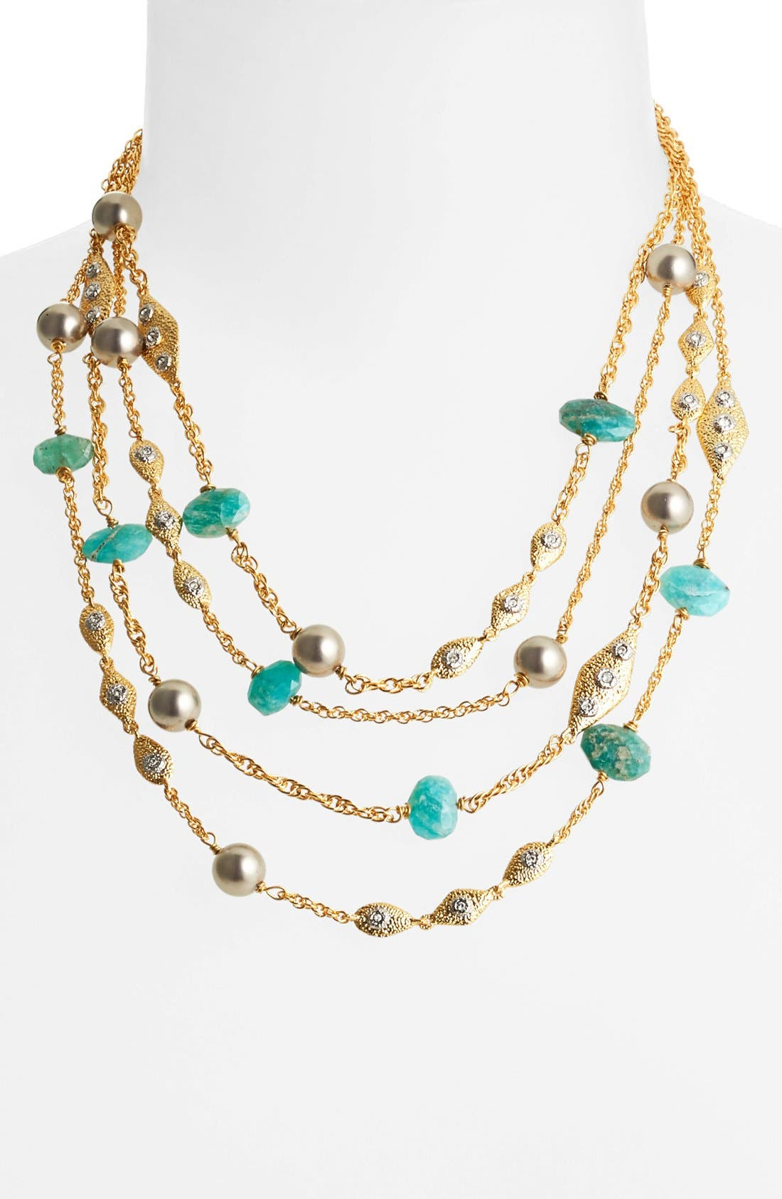Alternate Image 1 Selected - Alexis Bittar 'Elements' Multistrand Necklace