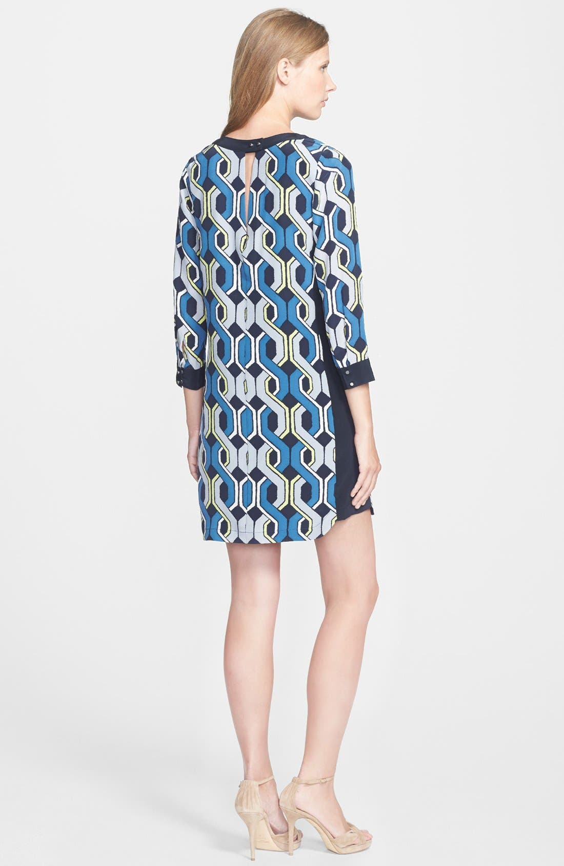 Alternate Image 2  - Trina Turk 'Darcie' Print Silk Shift Dress