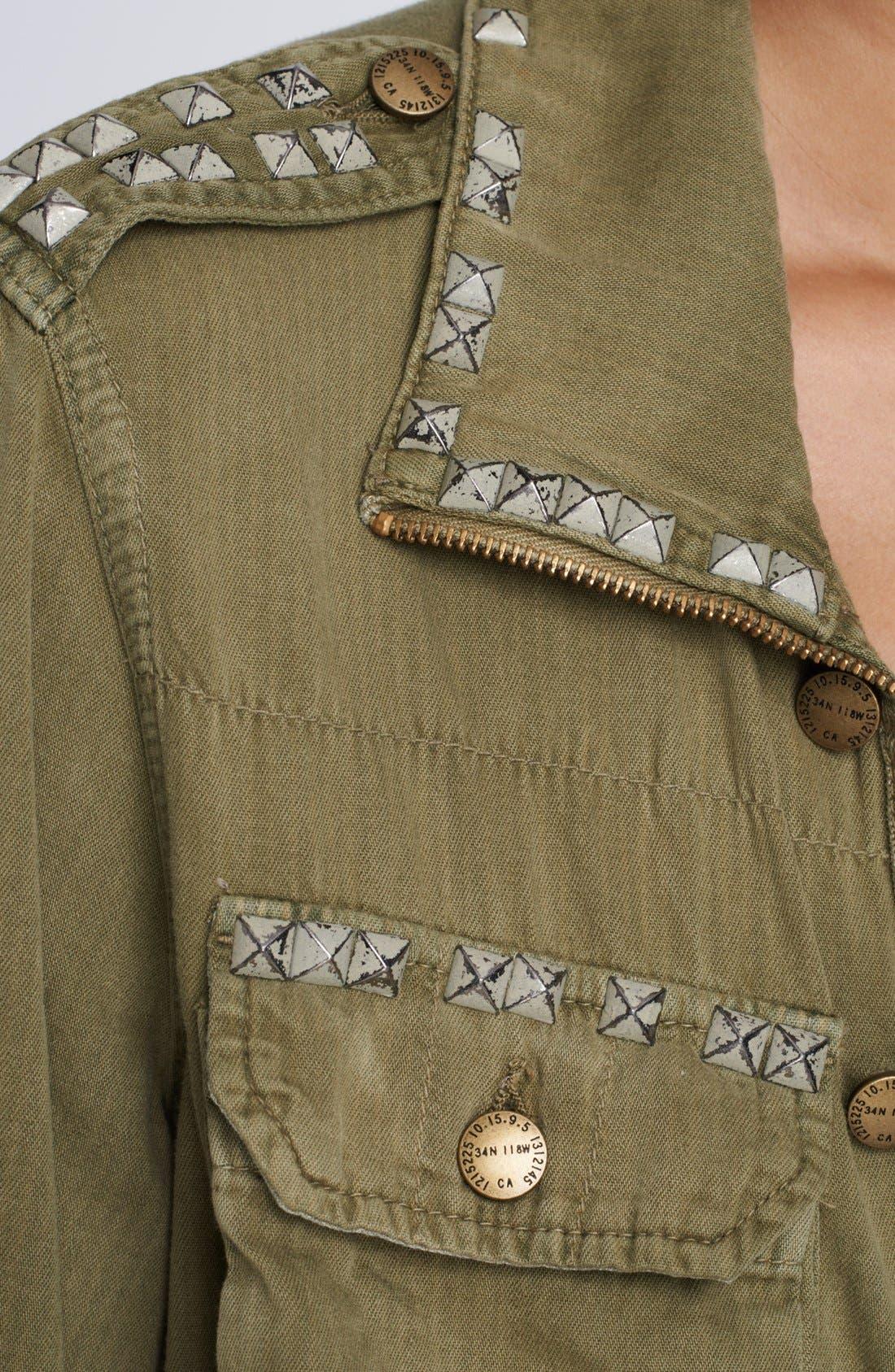 Alternate Image 4  - Current/Elliott 'The Lone Soldier' Jacket