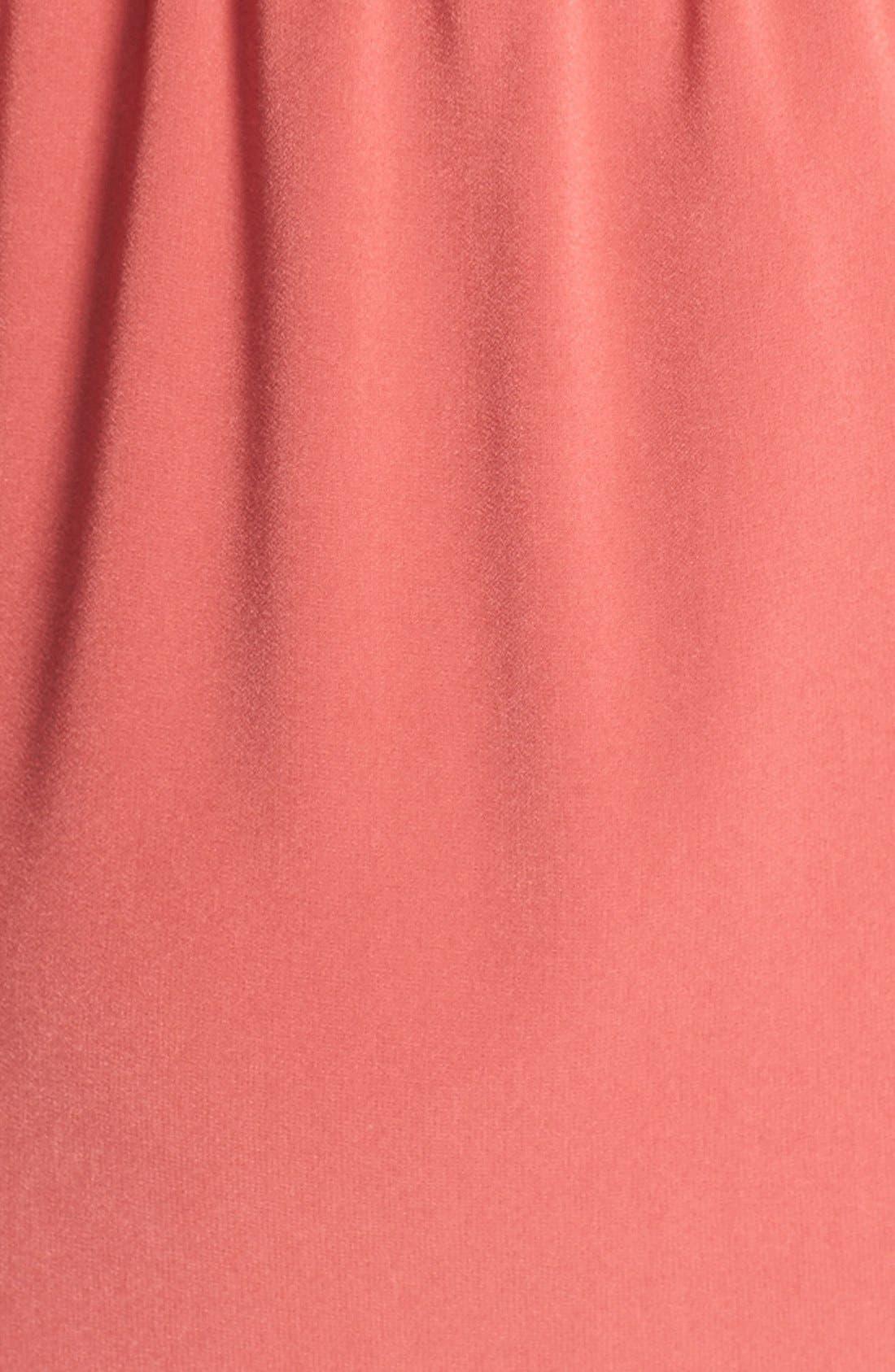 Alternate Image 3  - St. John Collection Front Drape Crepe Dress
