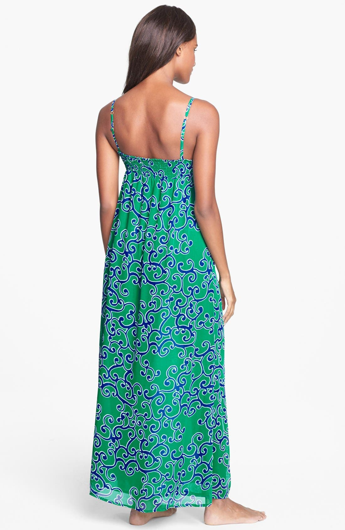 Alternate Image 2  - Tommy Bahama 'Ocean Swirl' Cover-Up Maxi Dress