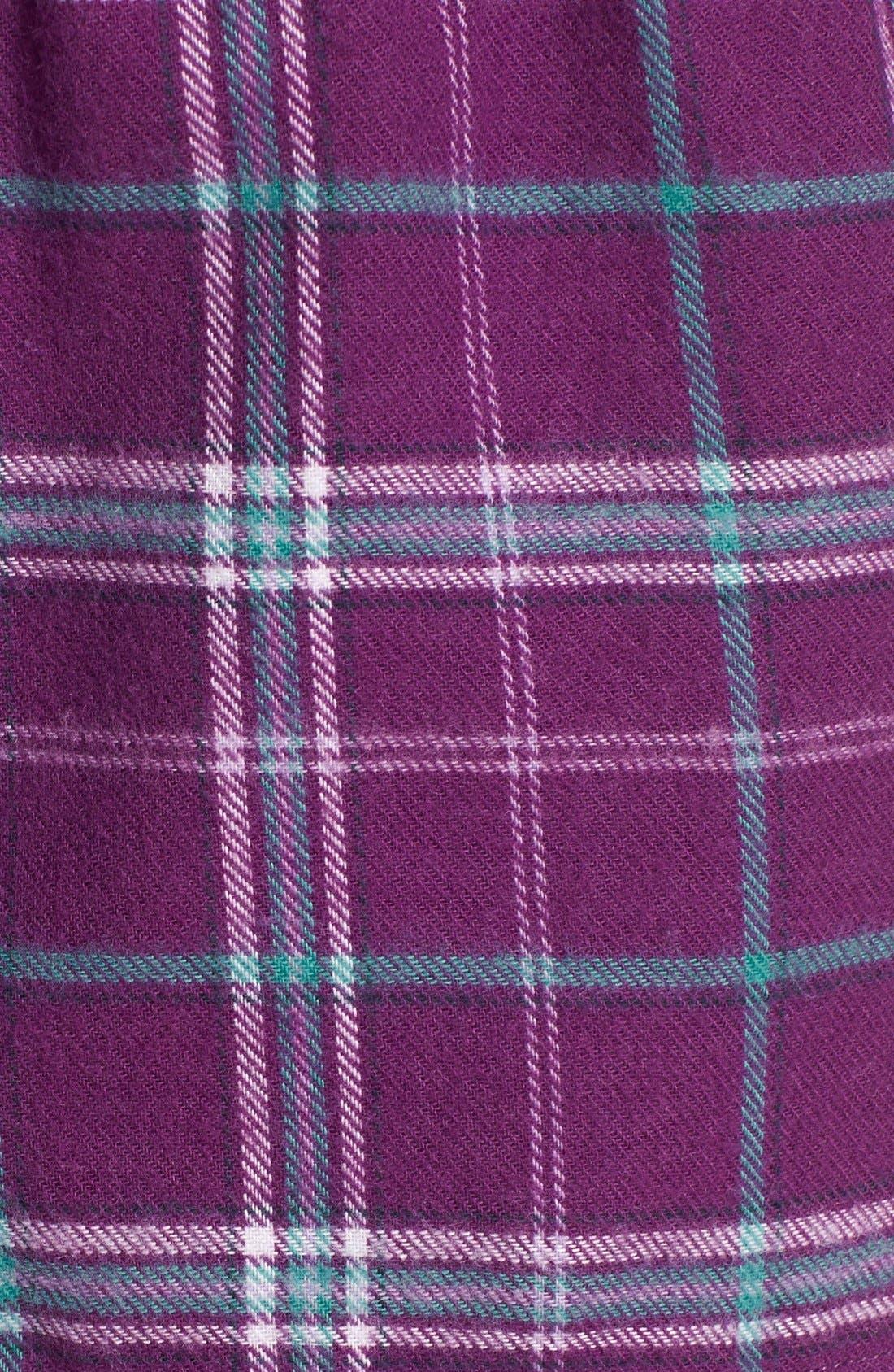 Alternate Image 3  - Make + Model Flannel Shorts
