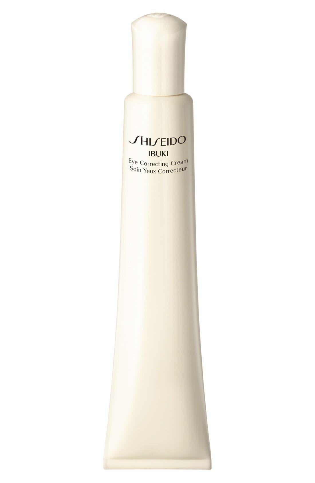 Shiseido 'Ibuki' Eye Correcting Cream