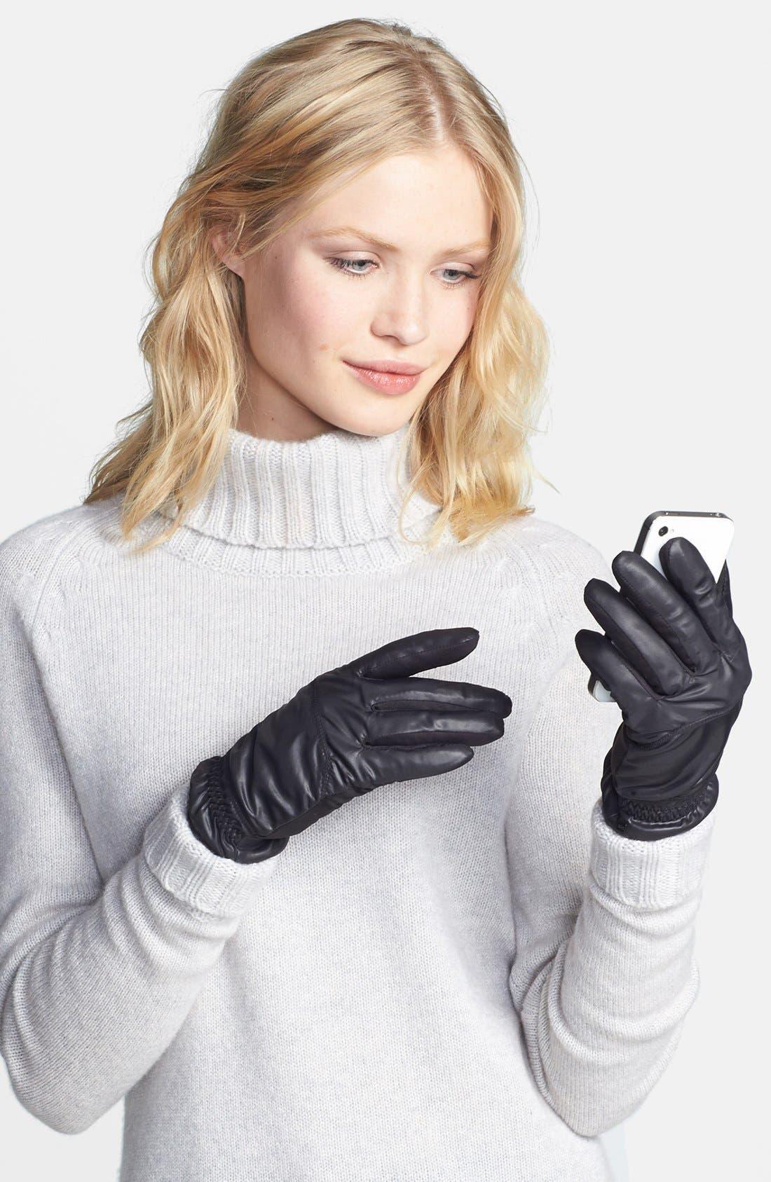Alternate Image 1 Selected - U|R Flare Cuff Gloves