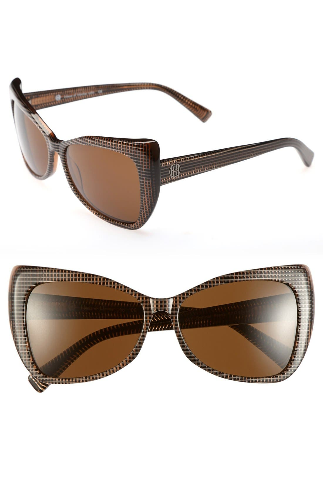 Main Image - House of Harlow 1960 'Aly' 57mm Sunglasses