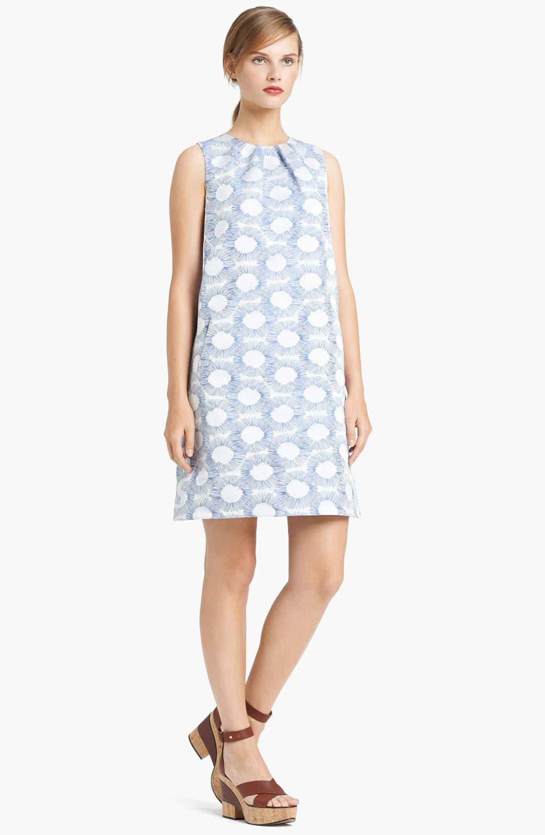 Alternate Image 1 Selected - Lida Baday Graphic Jacquard Shift Dress