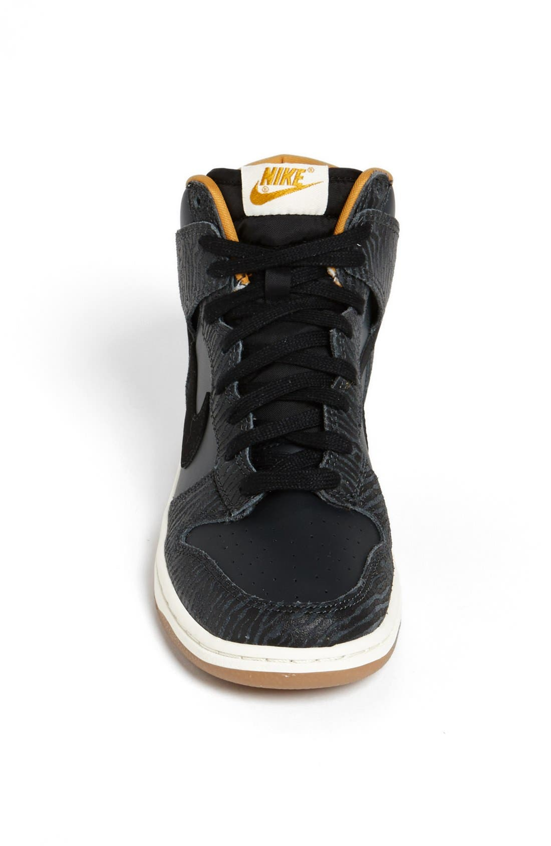 Alternate Image 3  - Nike 'Dunk Hi - Skinny Print' High Top Basketball Sneaker