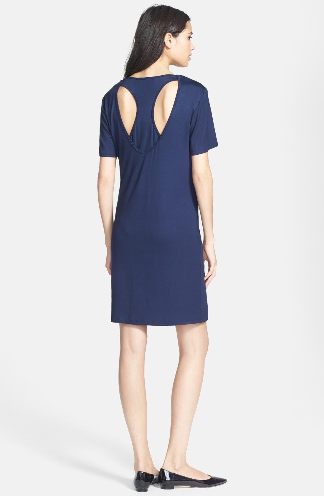 Alternate Image 2  - Trina Turk 'Lanna' Jersey T-Shirt Dress