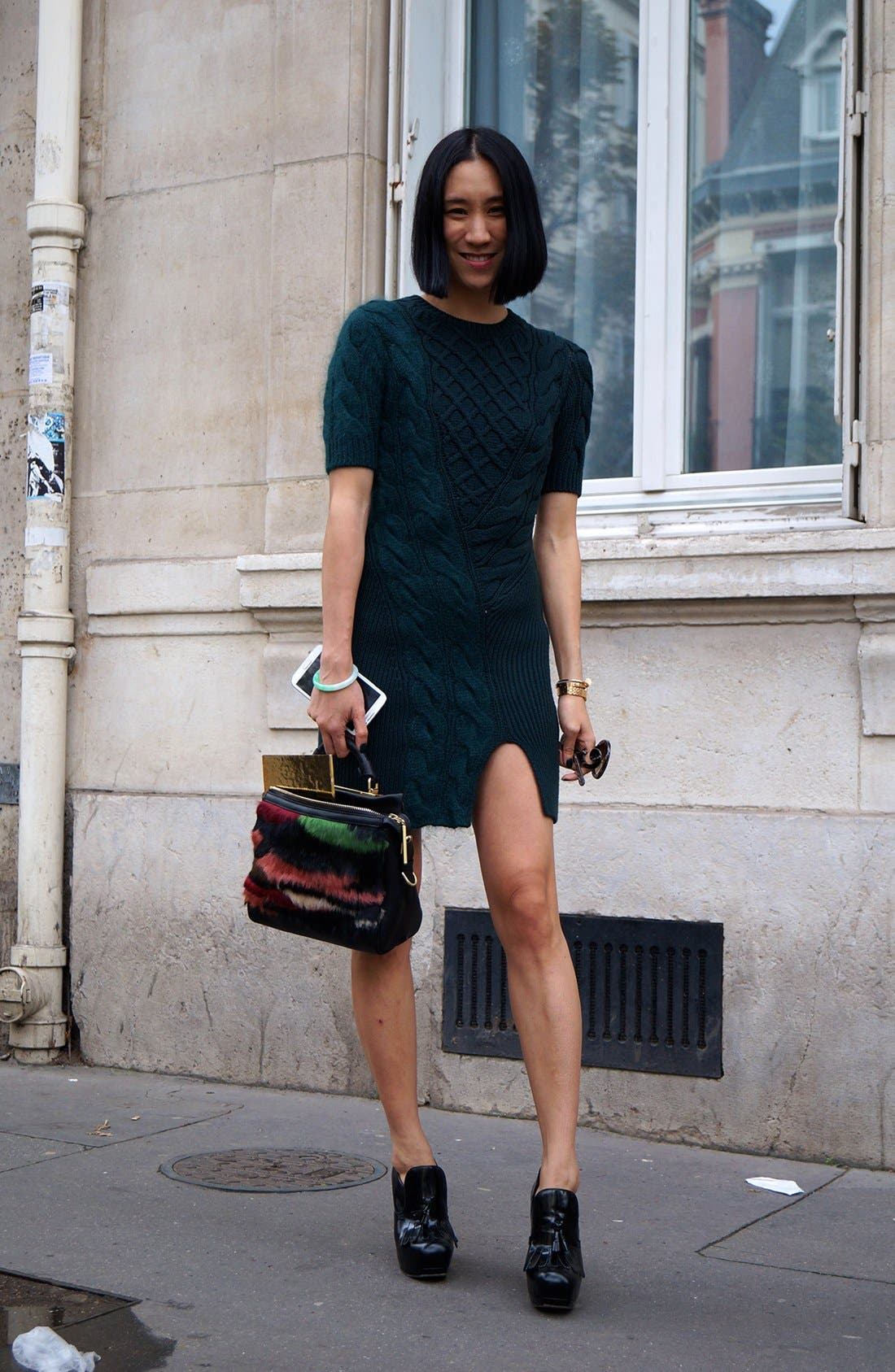 Alternate Image 1 Selected - The Cold Weather Dress Street Style Look