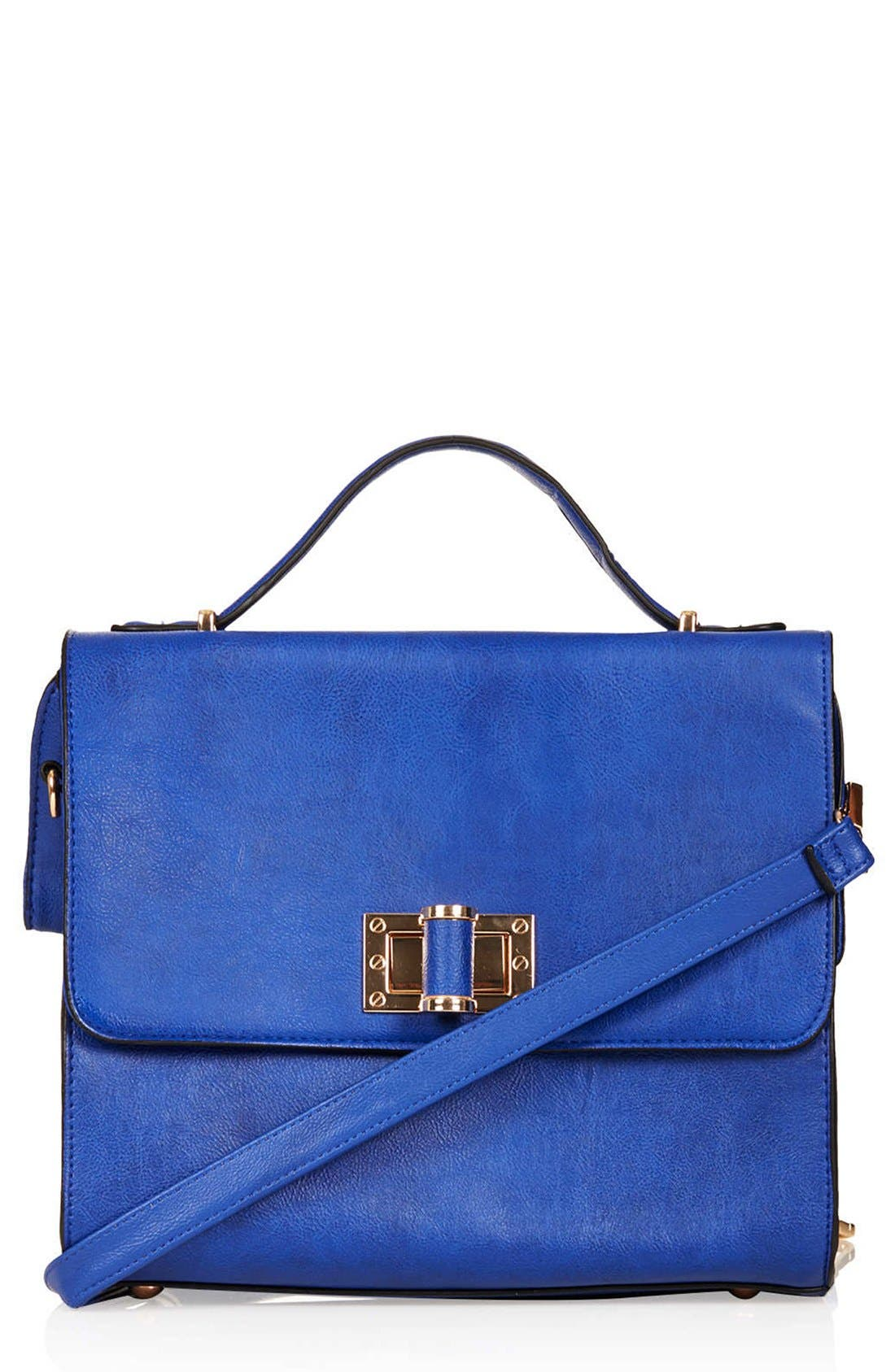 Main Image - Topshop 'Margot' Carryall Satchel