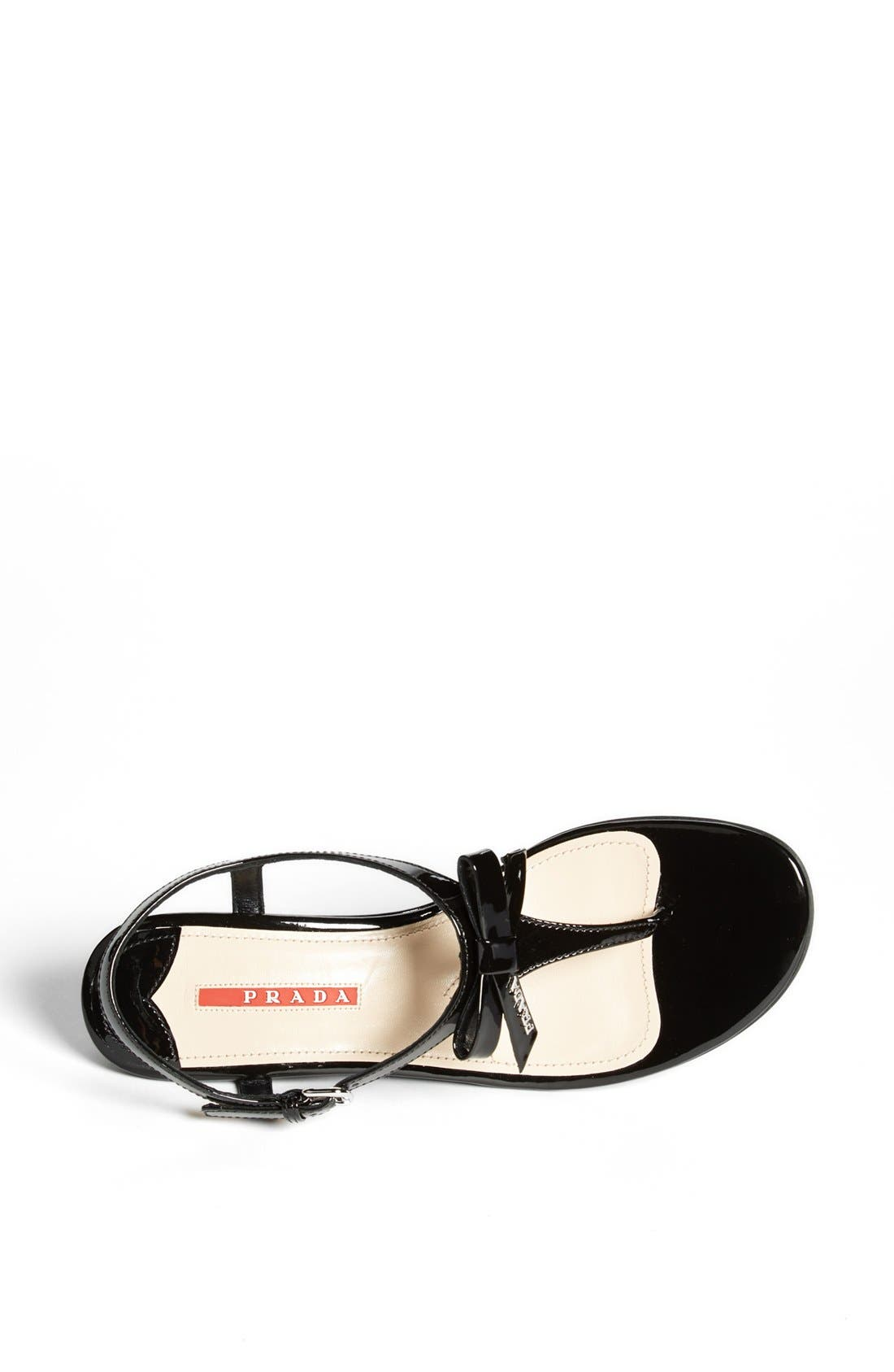 Alternate Image 3  - Prada 'Bow' Wedge Sandal