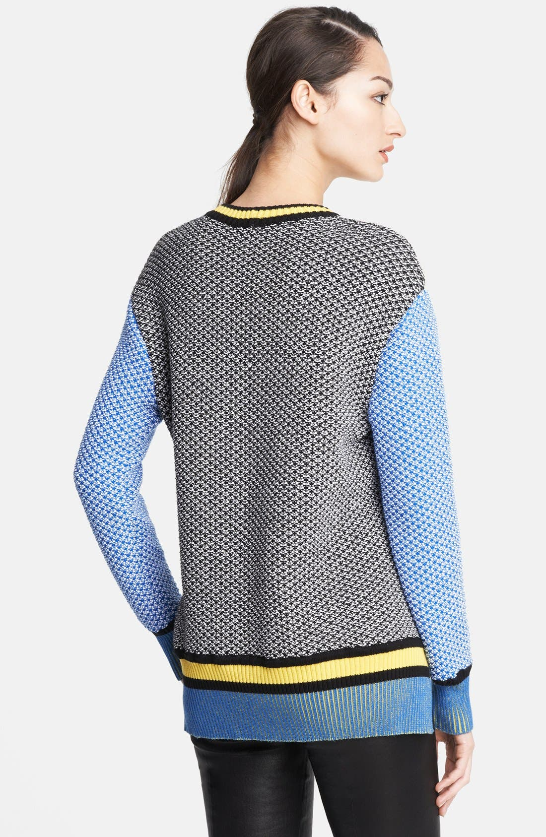Alternate Image 2  - Prabal Gurung Colorblock Sweater