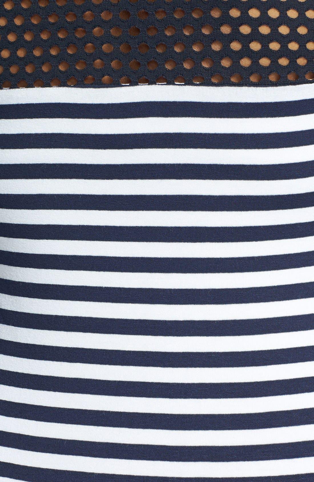 Alternate Image 3  - B44 Dressed by Bailey 44 'Open Net' Stripe Jersey Dress