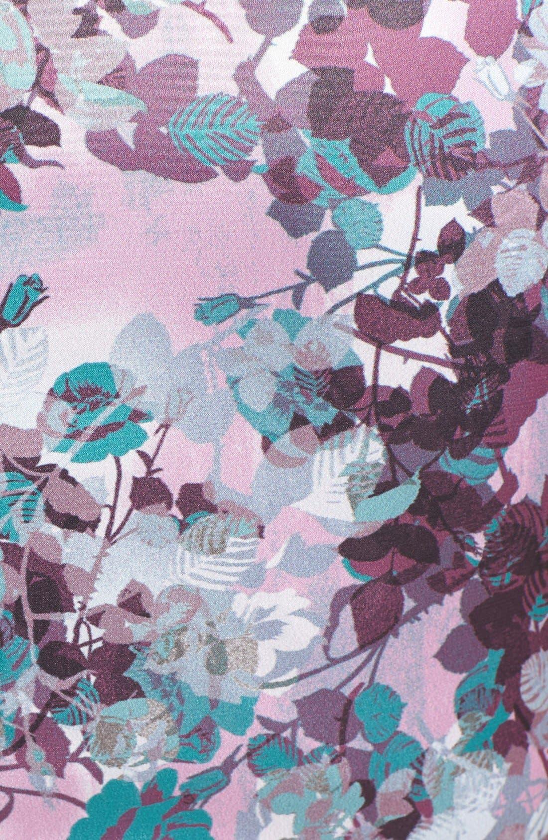 Alternate Image 4  - Ivy & Blue Floral Print Sheath Dress