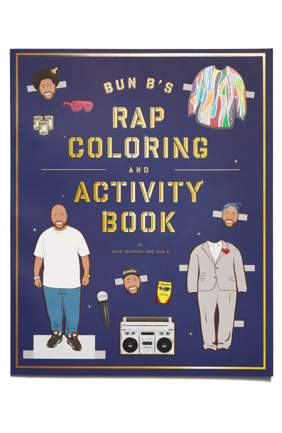 Alternate Image 1 Selected - Bun B's Rap Coloring and Activity Book