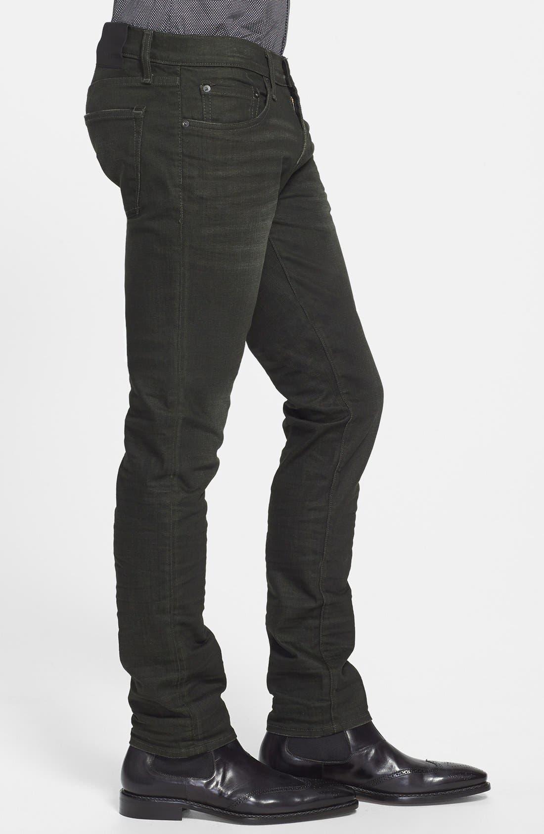 Alternate Image 3  - J Brand 'Mick' Skinny Fit Jeans (Arcane)