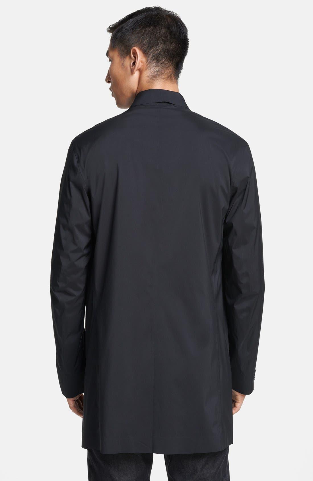 Alternate Image 2  - Zegna Sport Packable Water Repellent Raincoat