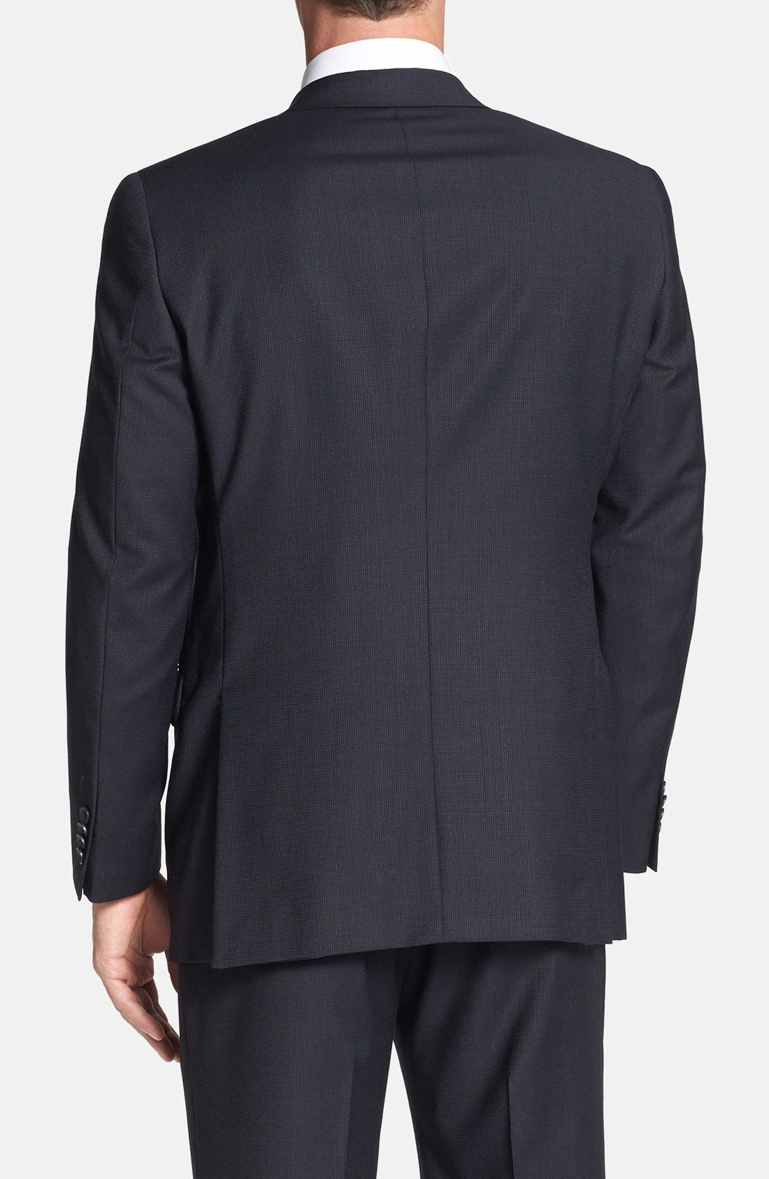Alternate Image 6  - Hart Schaffner Marx 'New York' Classic Fit Wool Suit