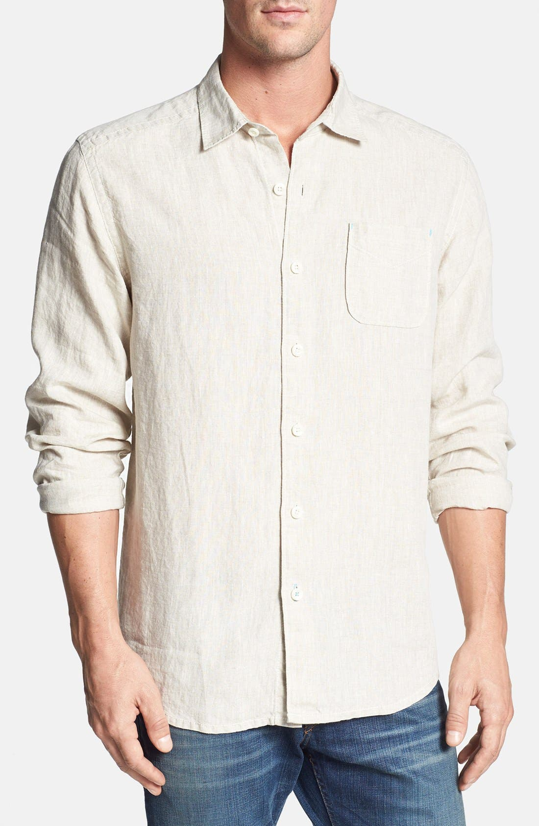 Alternate Image 1 Selected - Tommy Bahama 'Sea Glass Breezer' Original Fit Sport Shirt