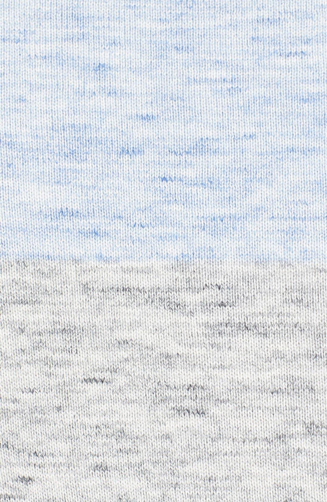 Alternate Image 3  - Surfside Supply Colorblock Heathered Cotton Sweater