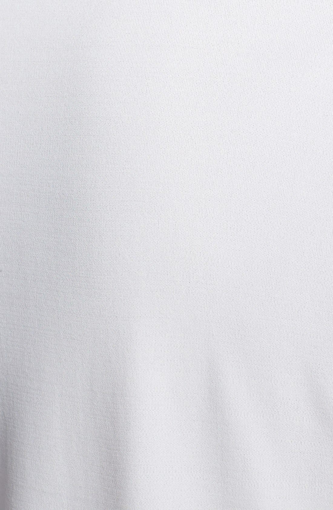 Alternate Image 3  - Eileen Fisher Silk Tee (Regular & Petite)