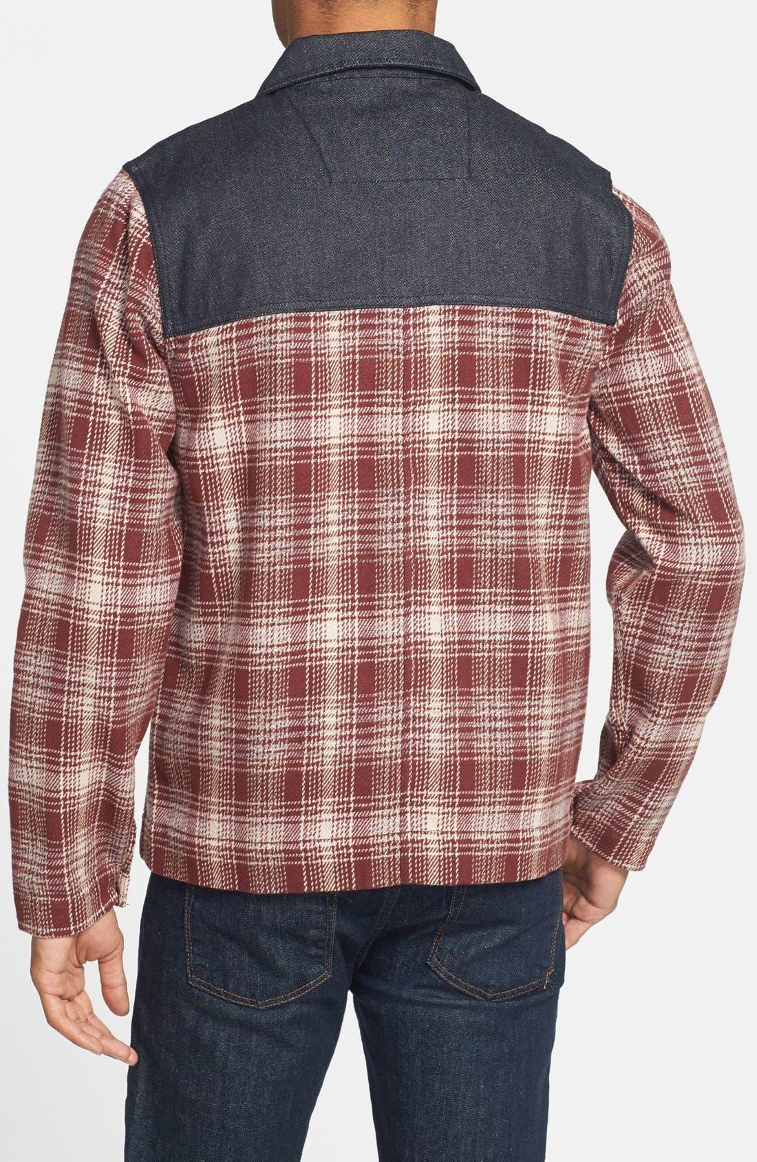Alternate Image 2  - Marshall Artist Plaid Coat
