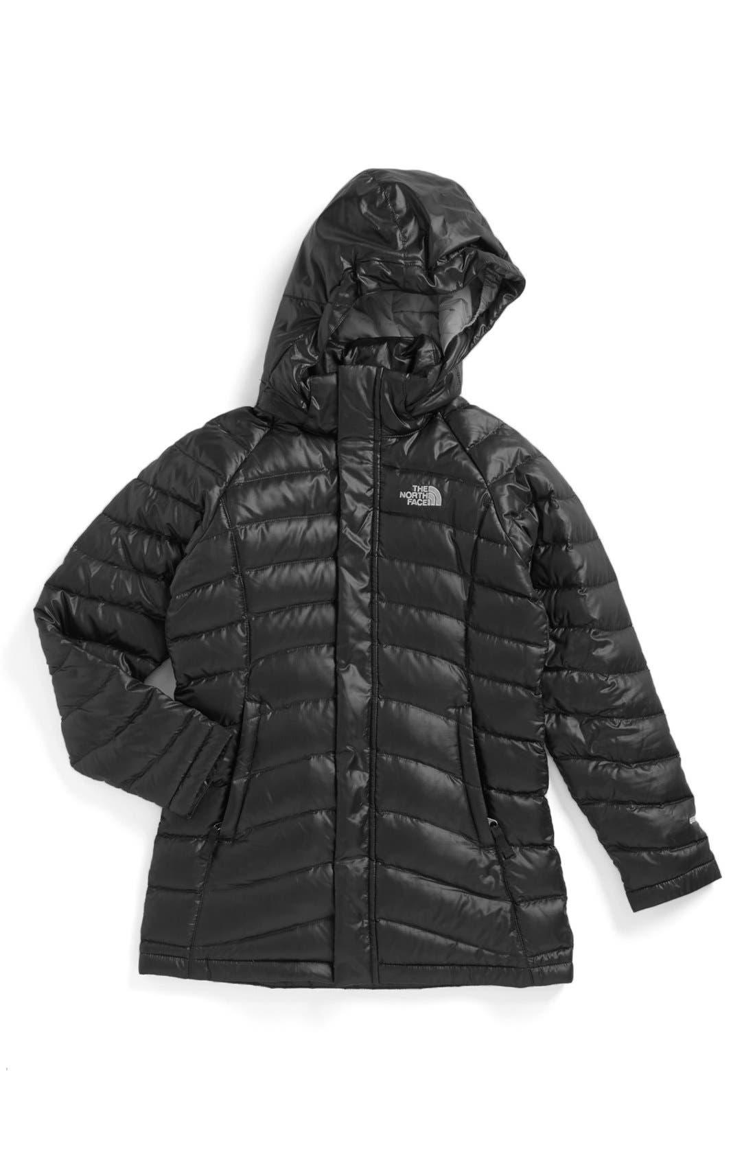 Main Image - The North Face 'Transit' Down Jacket (Little Girls & Big Girls)