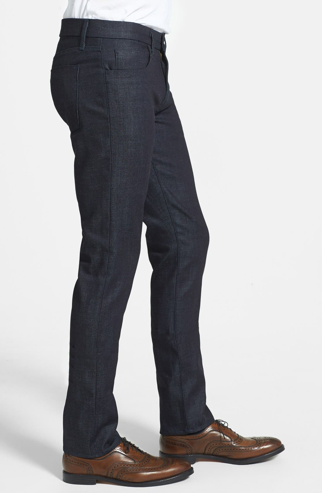 Alternate Image 3  - J Brand 'Tyler' Skinny Fit Jeans (Clean Raw)
