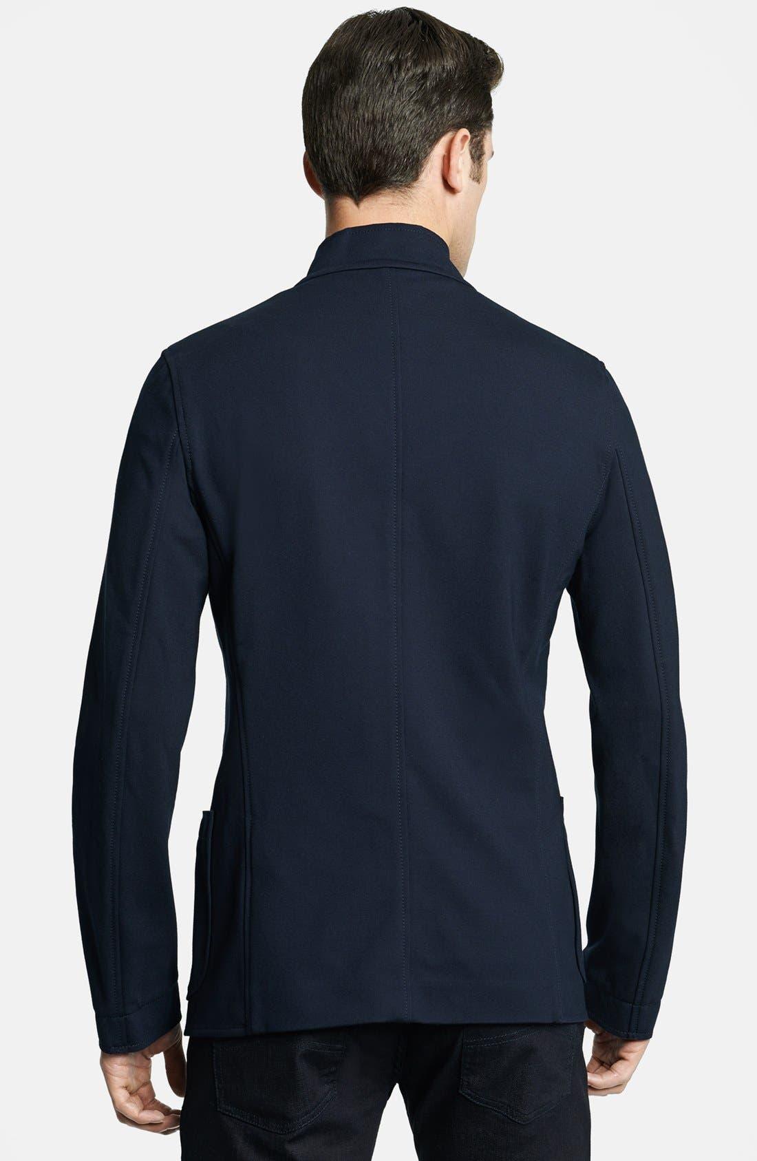 Alternate Image 2  - Armani Collezioni Ponte Neru Jacket