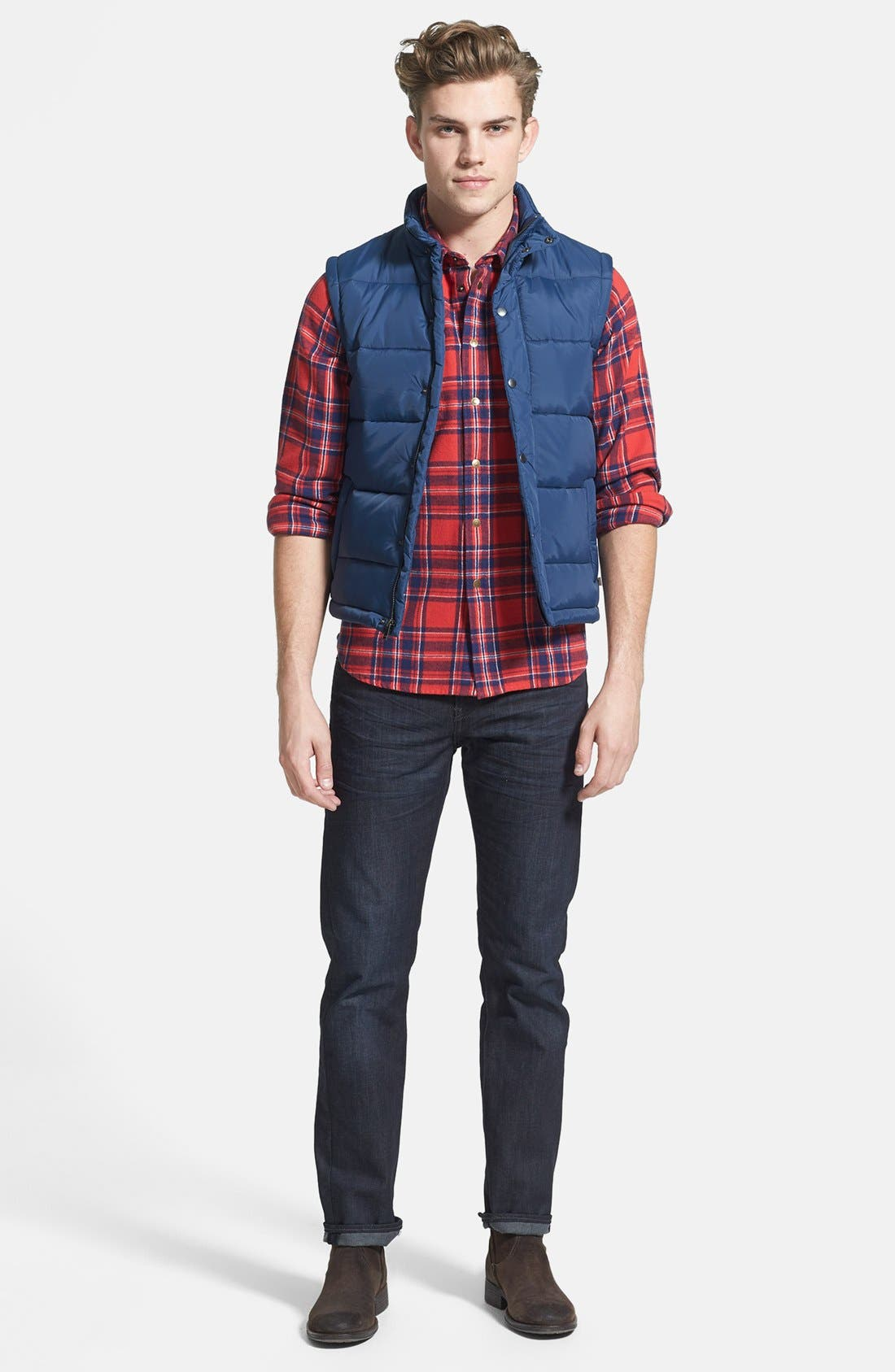 Alternate Image 5  - Levi's® '511™' Slim Fit Jeans (Rigid Dragon)