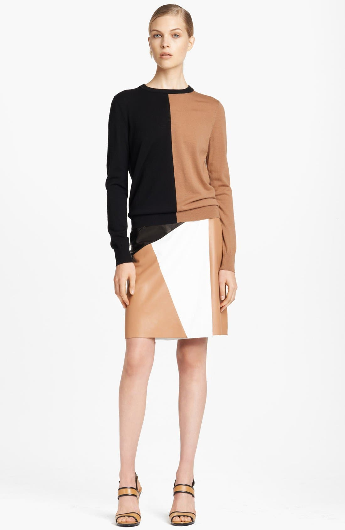 Alternate Image 4  - Michael Kors Colorblock Merino Wool Sweater