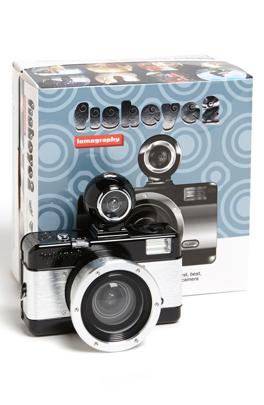 Main Image - Lomography 'Fisheye 2 Black' Metal Body Camera
