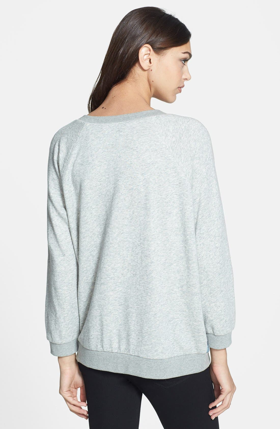 Alternate Image 2  - MARC BY MARC JACOBS 'Lena' Print Cotton Sweatshirt