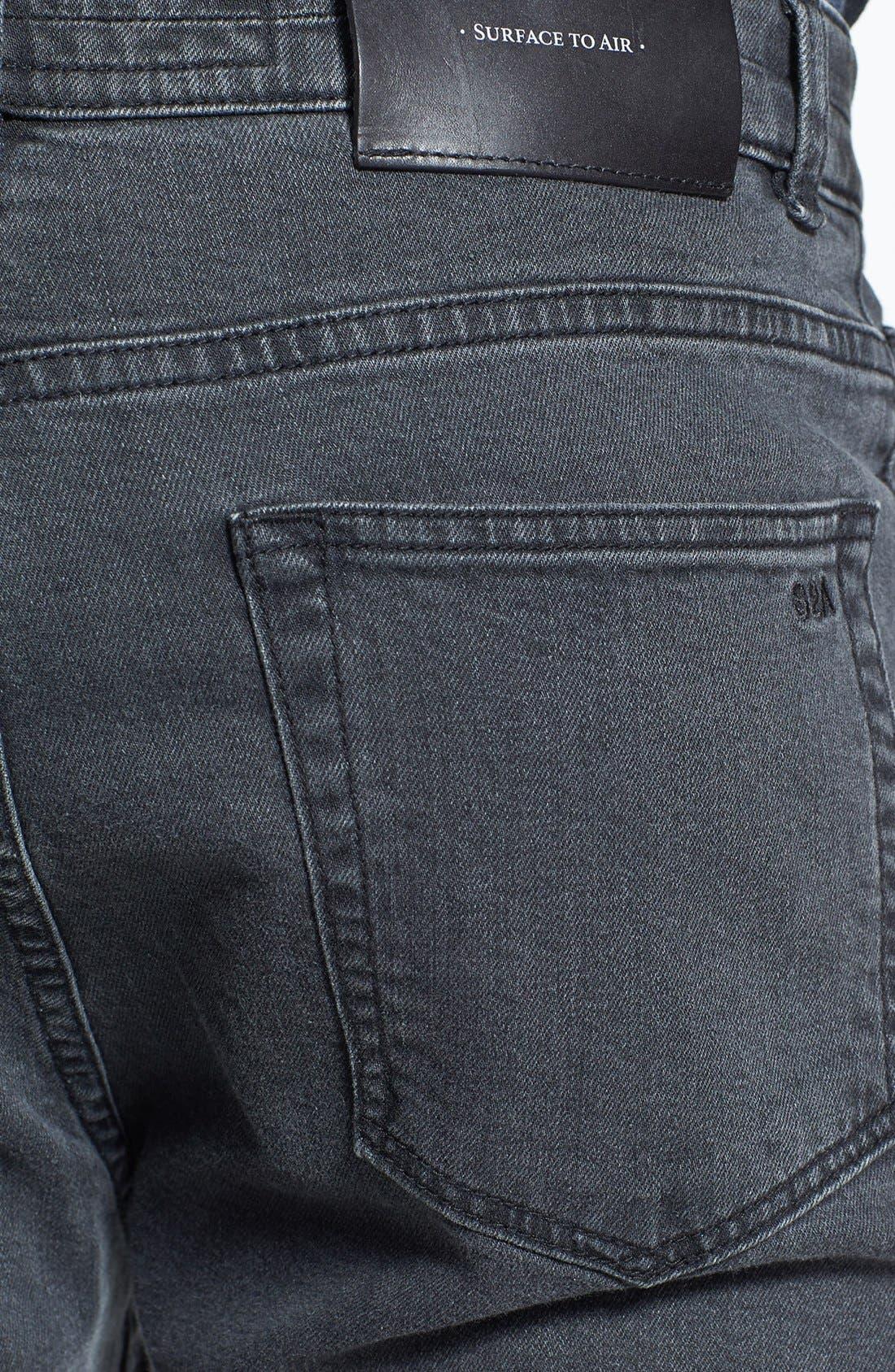 Alternate Image 4  - Surface to Air Five Pocket Slim Fit Pants