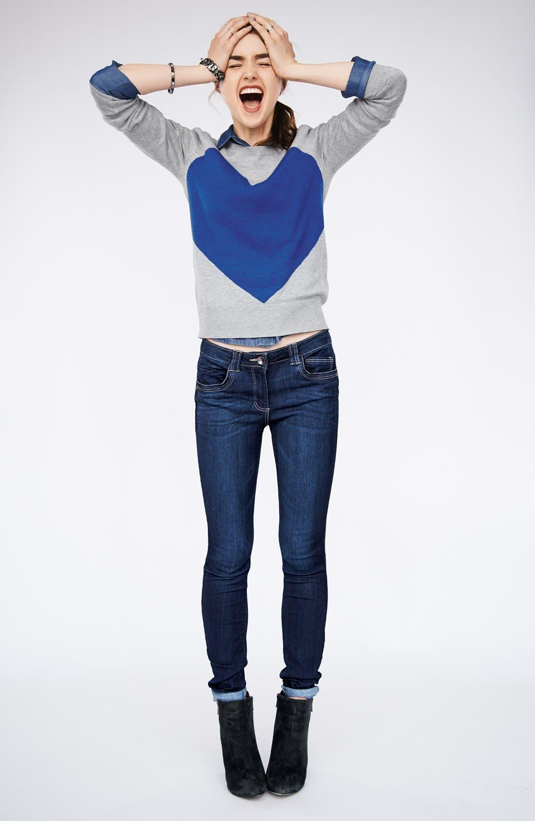 Alternate Image 6  - Wit & Wisdom Skinny Jeans (Indigo) (Nordstrom Exclusive)