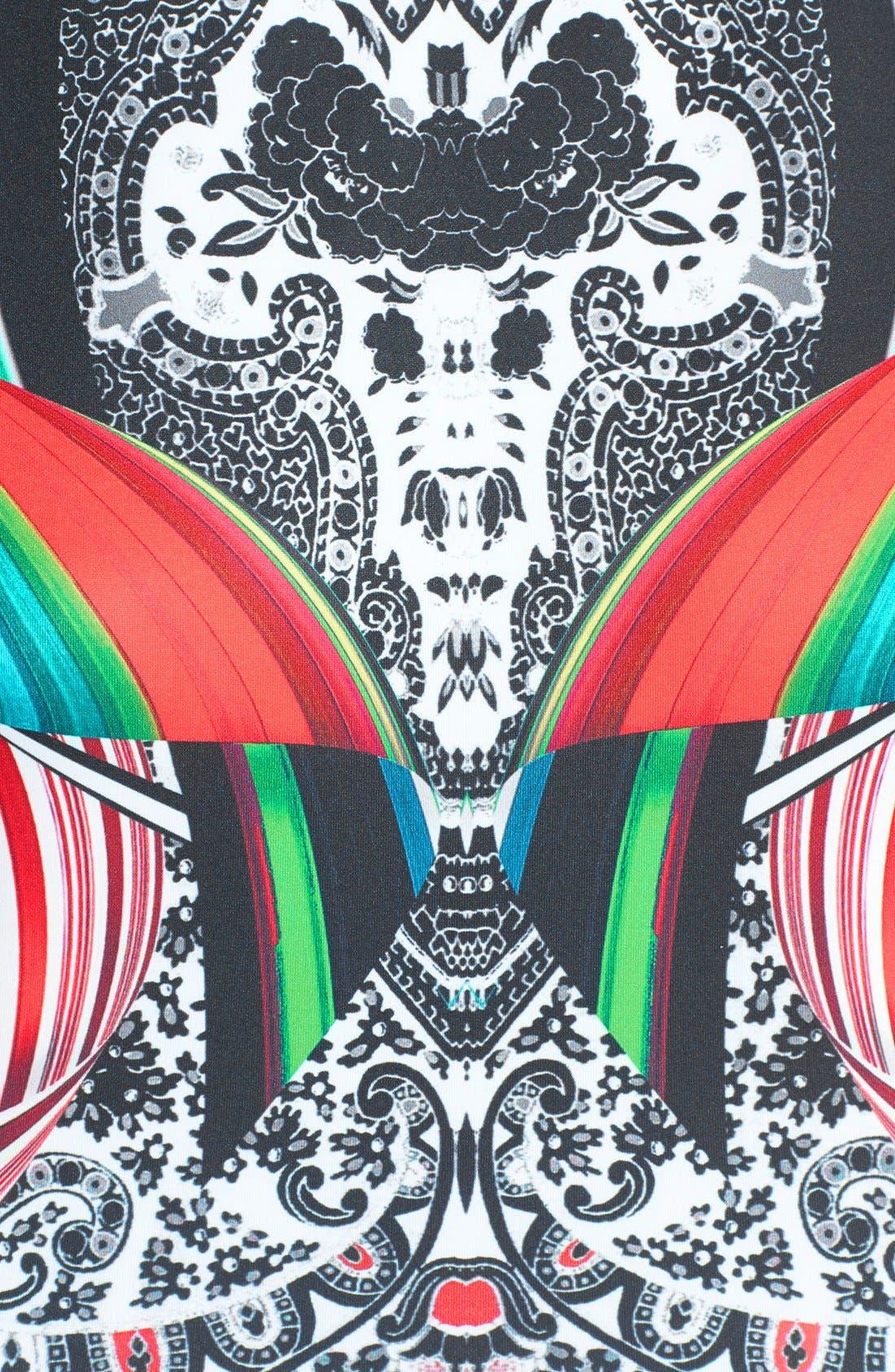 Alternate Image 3  - Clover Canyon 'Swirl Scarf' Crop Print Tank