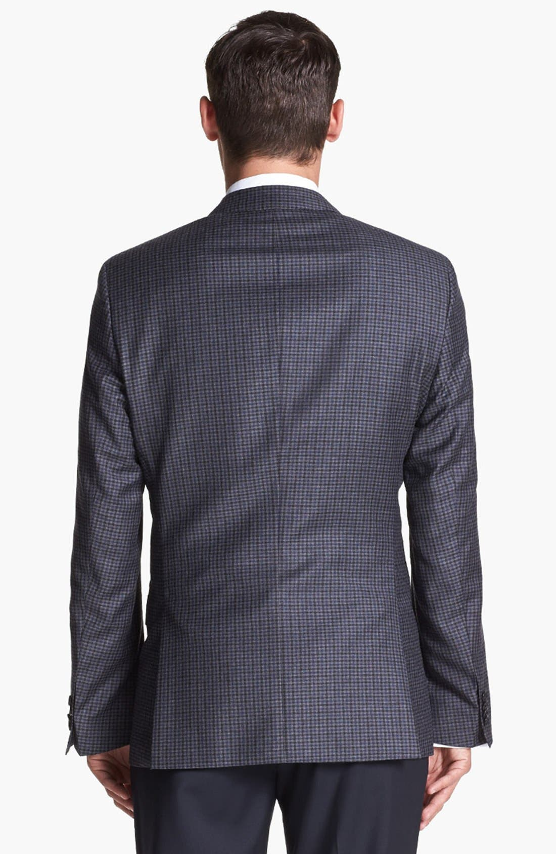 Alternate Image 5  - BOSS HUGO BOSS 'Hutch' Trim Fit Check Sportcoat